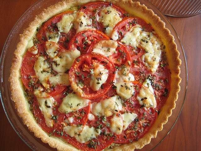 just lovely- french tomato tart | The Way to My Family's Heart | Pint ...