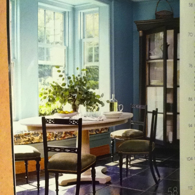 Bay Window Breakfast Nook