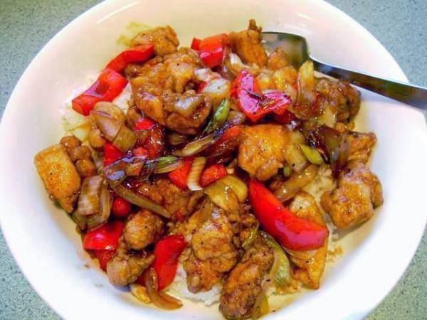 Chinese Chicken with Black Pepper Sauce Ingredients For the Stir-Fry 1 ...
