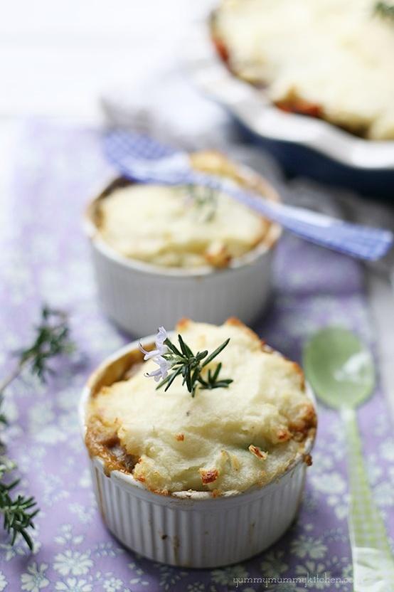 Vegetable lentil pie | Food for my Belly | Pinterest