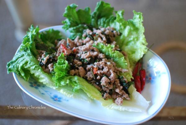 Thai basil turkey lettuce wraps | Inspiring Food | Pinterest