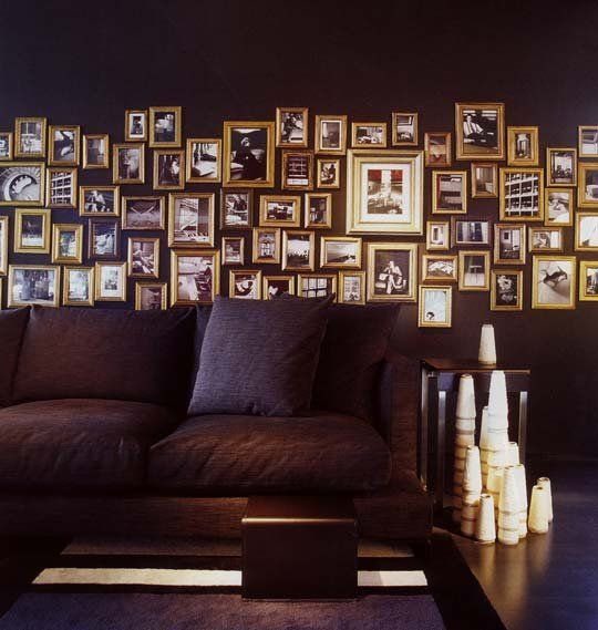 Look! Black Room, Gold Frames