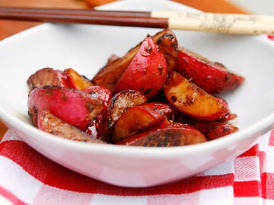Ginger-Soy Marinated Radishes | Healthy Recipes | Pinterest