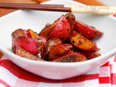 Ginger-Soy Marinated Radishes | Healthy Recipes | Pinterest