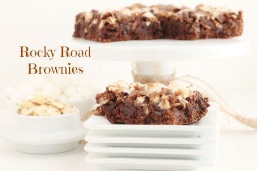 Homemade Rocky Road Brownies @createdby-diane.com