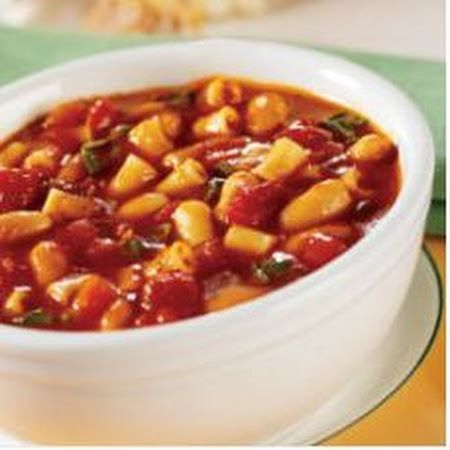 PASTA E FAGIOLI [ SOUP WITH BEANS] | Yummy Food | Pinterest