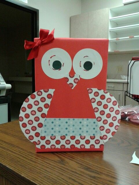 valentine's day owl box