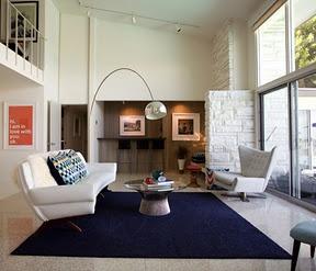arc lamp in living room living rooms pinterest. Black Bedroom Furniture Sets. Home Design Ideas