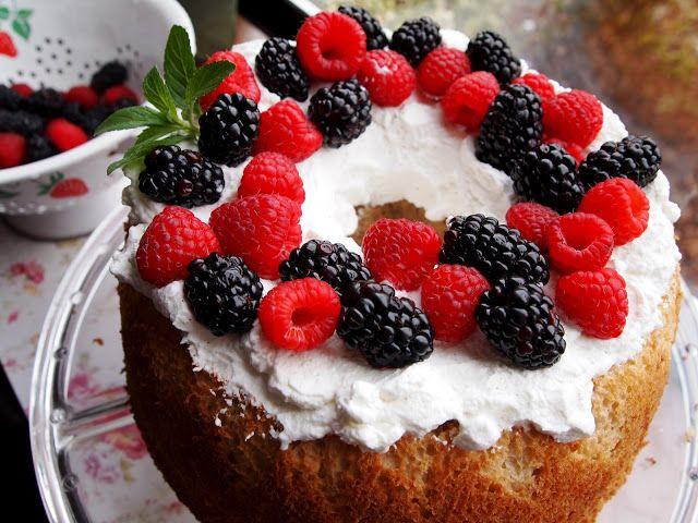 Brown Sugar Angel Food Cake | Decadent Desserts | Pinterest
