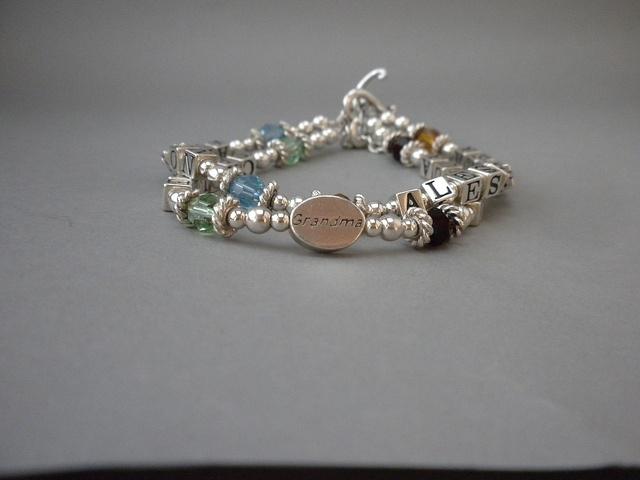 Bracelets With Grandchildren S Names