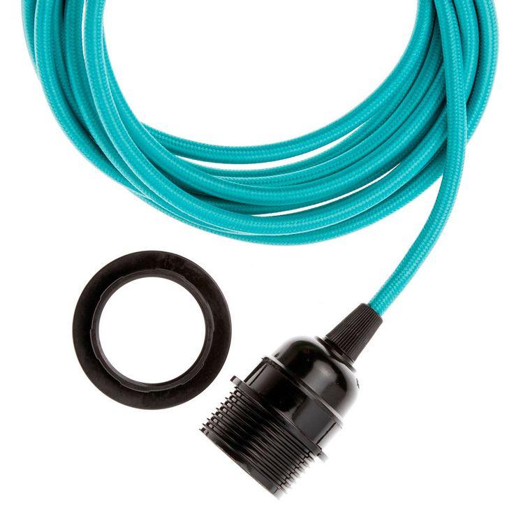 Pendant Light Cords Single Copper Socket Pendant Light L