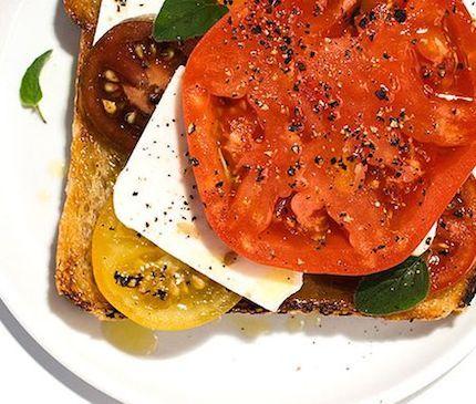 Meyer Lemon And Gigante Bean Open Faced Sandwiches Recipe — Dishmaps