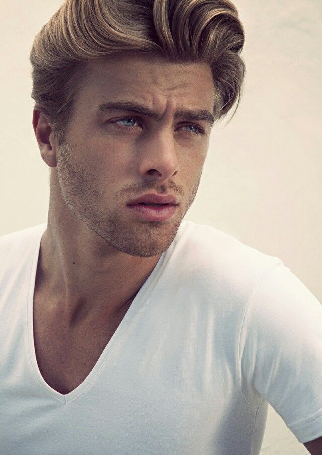 Handsome male model | Men hairstyle | Pinterest