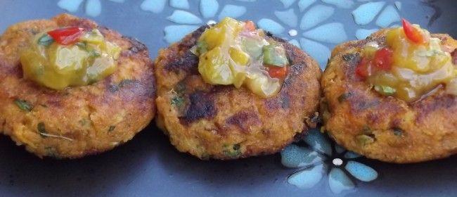 Crispy Sweet Potato Cakes   food   Pinterest