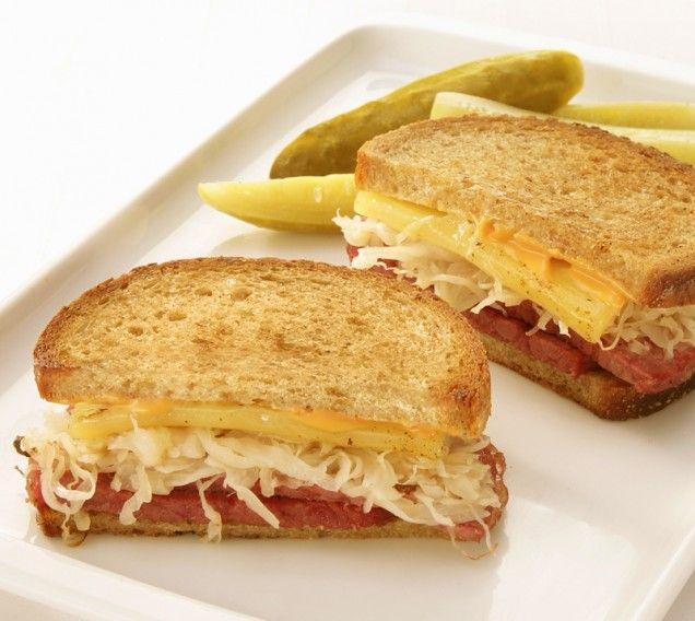 Reuben Sandwich. My mouth is watering!