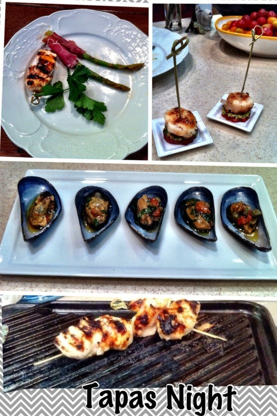 Marinated Asparagus Wrapped in Prosciutto, Grilled Chicken with Sweet ...