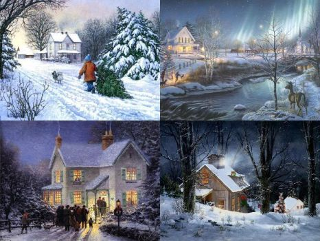 Christmas Day Card (130 pieces) | puzzles | Pinterest