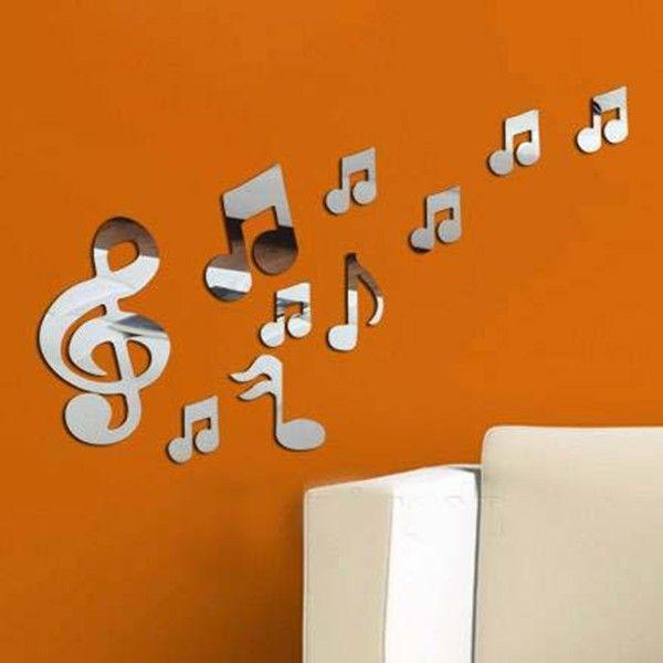 Wall Decor Music Notes HOME DECOR Pinterest