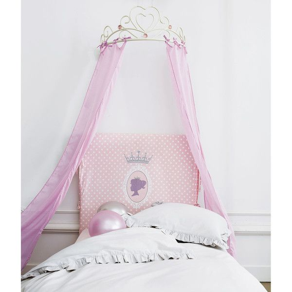 ciel de lit enfant rose coeur home pinterest. Black Bedroom Furniture Sets. Home Design Ideas