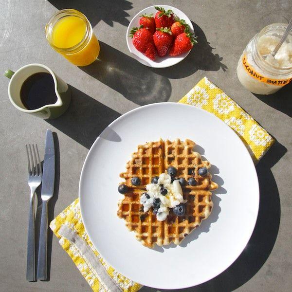 Gluten Free Blueberry Waffles   Paleo Food   Pinterest