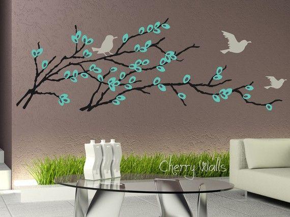 Nice idea dream home pinterest - Vinilos arboles decorativos ...