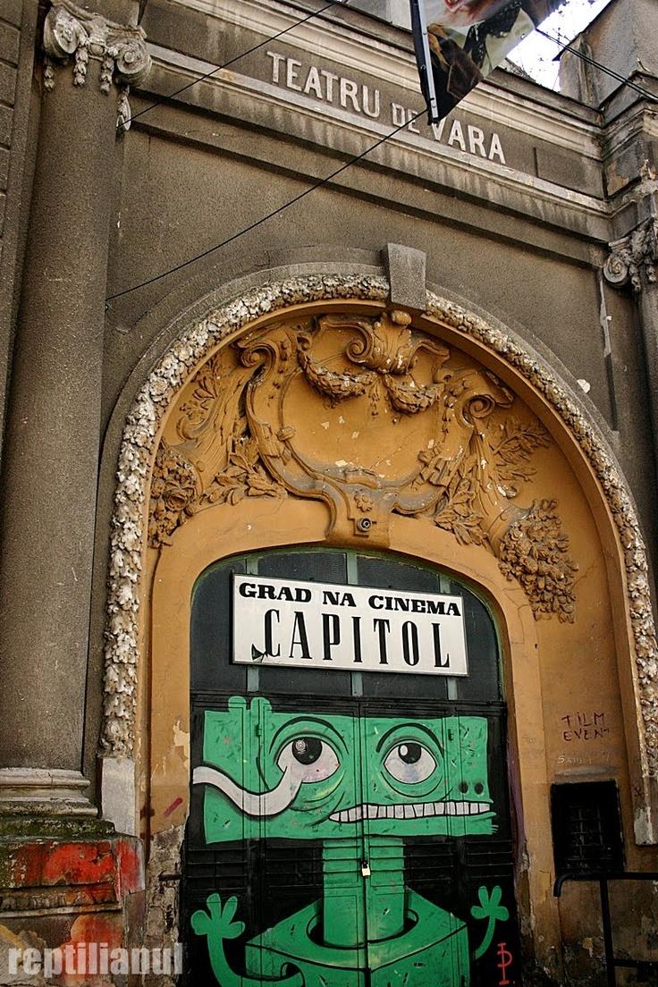 Cinema Capitol | Locatii Romania | Pinterest