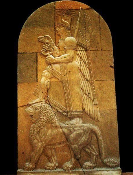 Khaldi one 3 chief deities of Ararat (Urartu). Of all the gods of Ararat panthenon, most inscriptions were dedicated to him.