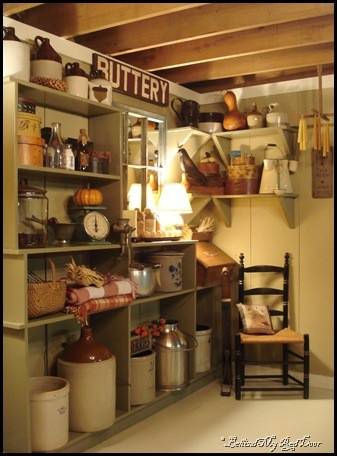Old fashioned pantry grandma 39 s pantry pinterest for Country kitchen pantry ideas