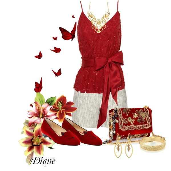 """Red Red Wine"" by diane-shelton on Polyvore"