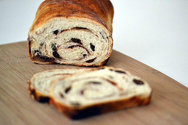Cinnamon Raisin Swirl Bread | my meal planner | Pinterest