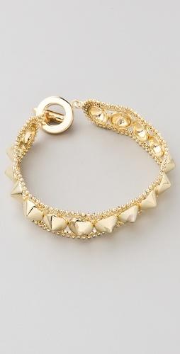 love this studded wrap bracelet