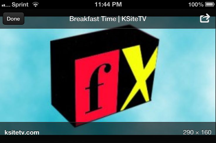 Breakfast Time fx 8/3/95 - YouTube