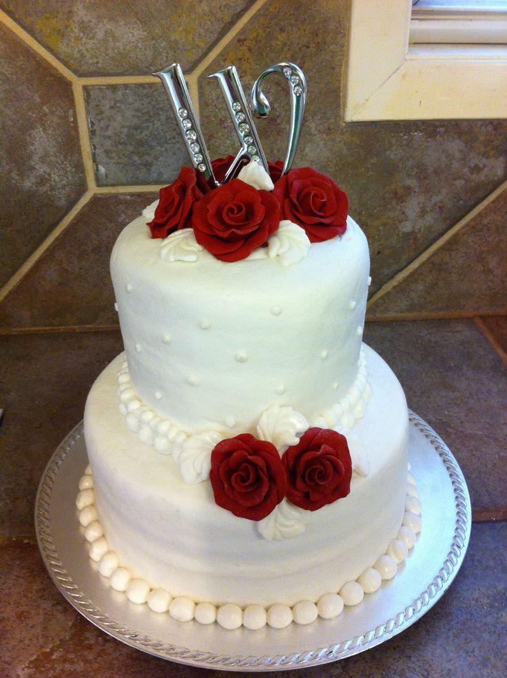 Wedding cake Cakes and crafts Pinterest