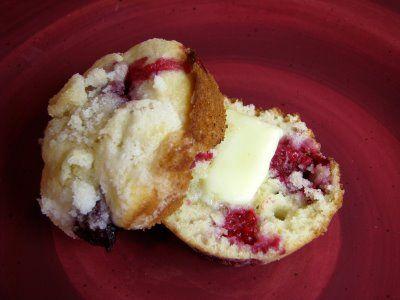 Raspberry Lemon Muffins | Food - Bread, Muffins, Pastries | Pinterest
