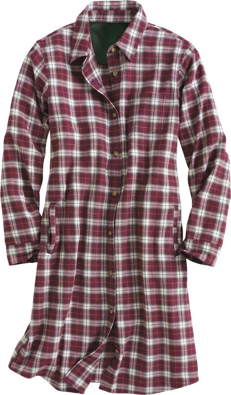 Women 39 s flannel sleep shirt aly pinterest for Women s flannel sleep shirt