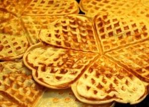Norwegian waffles. | *pancakes and waffles | Pinterest