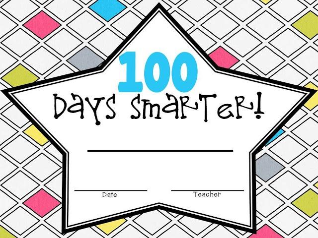 Free 100 Days Smarter Award!   School!!   Pinterest