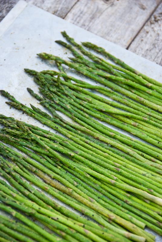 Oven Roasted Asparagus | a kitchen cafe | food | Pinterest