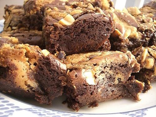 Peanut Butter Fudge Bars | Food, Recipes | Pinterest
