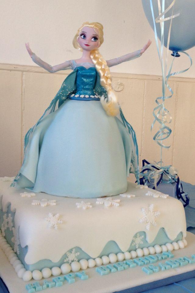 Elsa frozen cake frozen party pinterest