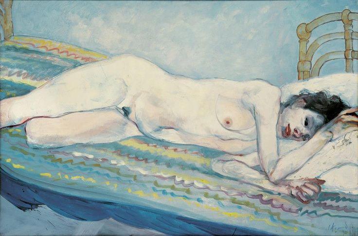 Carlos Alonso, desnudo