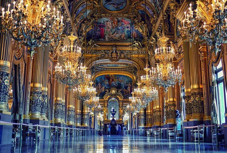 Opera room in paris france decor pinterest for Art and decoration france