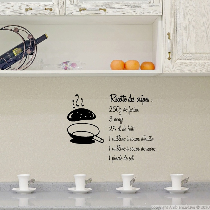 Pinterest discover and save creative ideas - Kitchen wall stickers decor ...