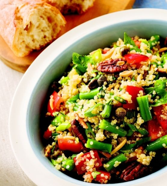 Quinoa, Green Bean and Tomato Salad from Rob Feenie's Casual ...