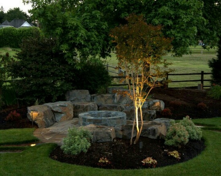 Back Yard Fire Pit Ideas