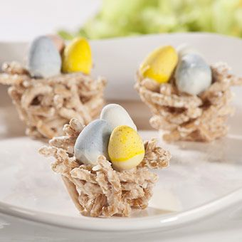 Easter Egg Nests   Recipes/Foods to Try   Pinterest