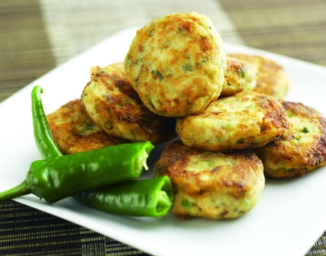 Potato Salmon Patties Recipe — Dishmaps