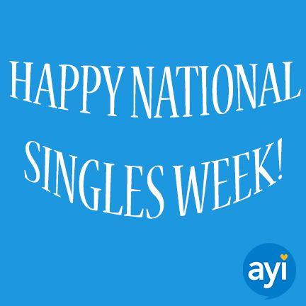 celebrate national singles week