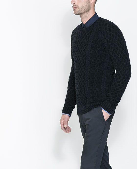 Zara Mens Wool Jumpers 39