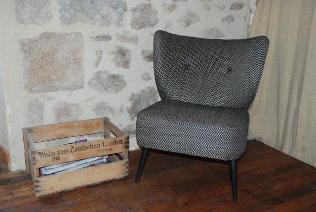 Table rabattable cuisine paris ampm fauteuils - Fauteuil franck ampm ...